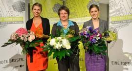 Die Preisträgerinnen 2012