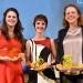 Die drei Preisträgerinnen des Jahres 2015: Carola Mayr (1.Preis), Theresa Liebl (3.Preis), Britta Meixner (2. Preis) (v. l . n. r)