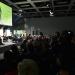 Blick auf Zuschauerraum und Bühne während der Förderpreisverleihung 2017