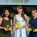 Die Preisträgerinnen des ARD/ZDF Förderpreis »Frauen + Medientechnologie« 2017: (v.l.n.r) Anna-Maria Daschner (3.Preis), Carolin Schramm (1.Preis), Kristina Mohr (2. Preis)