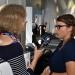 Kristina Mohr (2. Platz, r) im Interview mit Sissi Pitzer (B5 Medienmagazion) im Ancshluss an die Preisverleihung