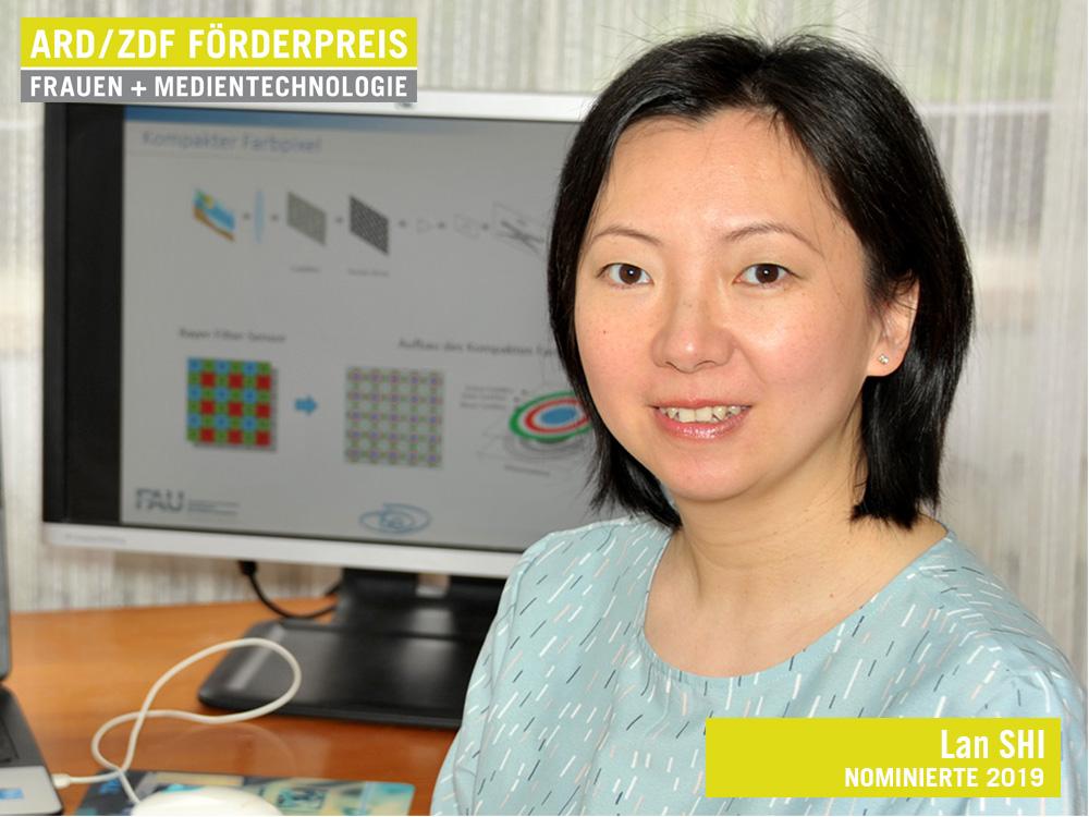 Lan Shi, Nominierte für den ARD/ZDF Förderpreis »Frauen + Medientechnologie« 2019