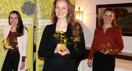V.l.n.r.: Maike Richter (3. Preis 2020), Dr. Jennifer Rasch (1. Preis 2020), Franziska Mertl (2. Preis 2020)